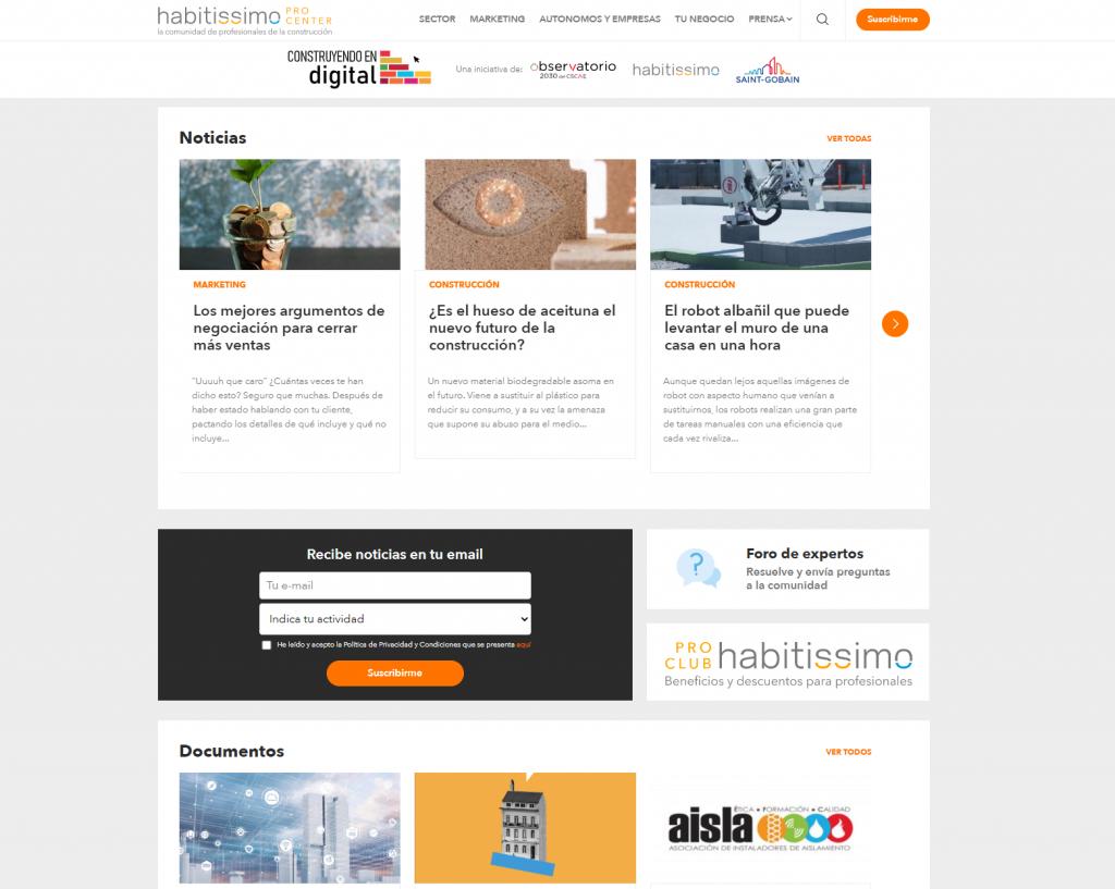 Nace habitissimo Procenter, la nueva plataforma de conocimiento para los profesionales del sector