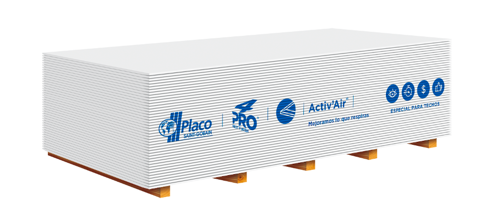 Descubre la primera placa de yeso que mejora la calidad del aire interior